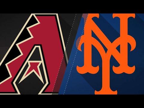 deGrom, Mets stifle D-backs in a 3-1 win: 5/18/18