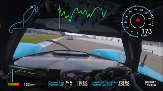 Onboard Camera: World's First Hydrogen Race Car taking on Fossil Fueled Cars