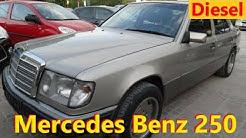 Mercedes Benz 250 Diesel w124 // Авто в Германии