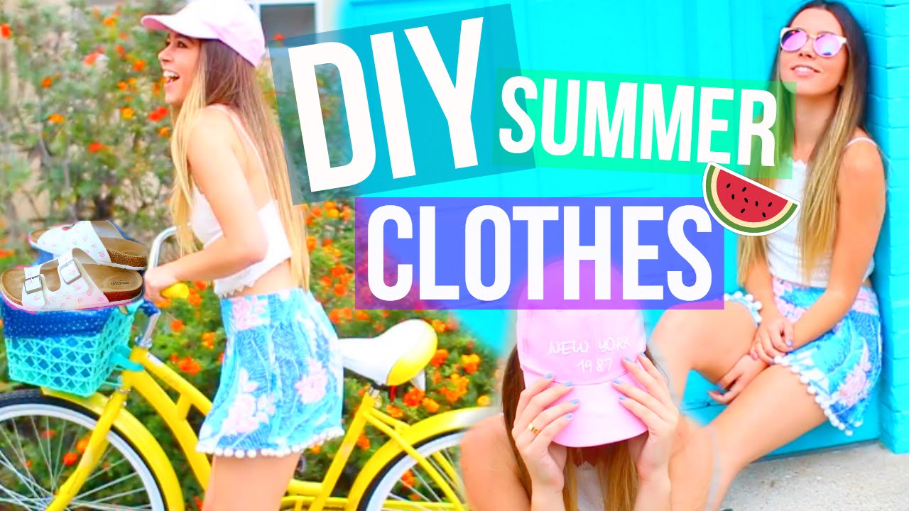 India Summer Tumblr Top diy summer clothes tumblr inspired! easy & affordable! - youtube