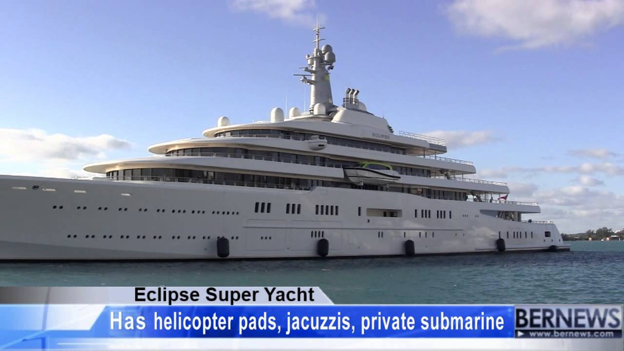 Roman Abramovich See Inside His Crazy Us 1 500 000 Eclipse Yacht