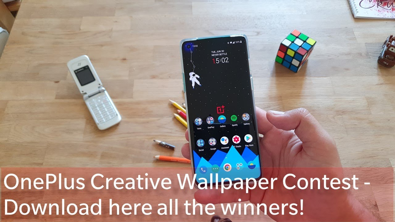 Oneplus Creative Wallpaper Contest Download Here All The Winners In One Pack Youtube