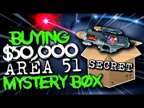 Buying $50,000 Area 51 Mystery Box.. (WHATS INSIDE?)