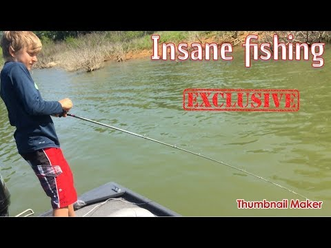 INSANE FISHING AT LAKE GRAPEVINE!!