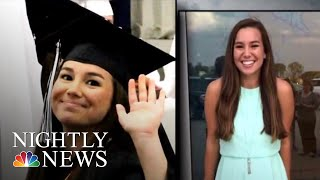 Missing Iowa College Student Found Dead, Suspect In Custody | NBC Nightly News