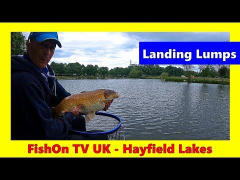 Landing Lumps At Hayfield Lakes : FishOn TV UK
