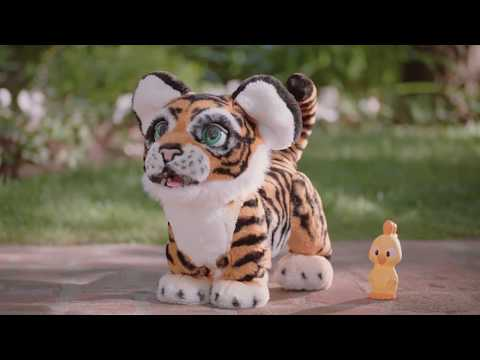 Fur Real Roarin' Tyler The Playful Tiger Soft Toy