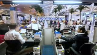Salalah Airport timelaps