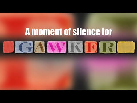 A Moment of Silence for Gawker (The Ed the Sock Show)