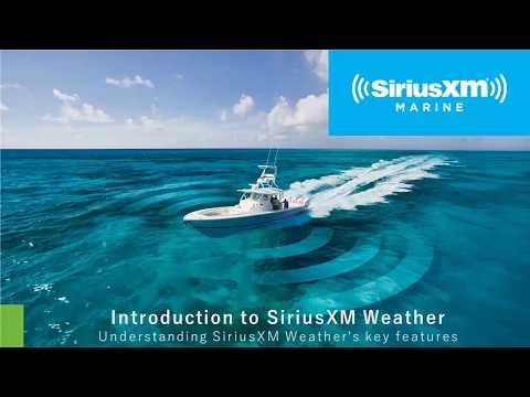 Intro To SiriusXM Marine Weather Webinar    April 2019