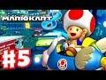 Mario Kart 8 - Gameplay Part 5 - 50cc Shell Cup (Nintendo Wii U Walkthrough)