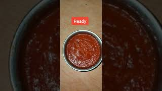 Tomato Sauce 🍅🍅 || Home made sauce || Tasty || Yummy