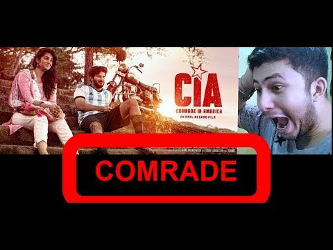 CIA || Comrade In America || Official Trailer || Dulquer Salmaan || Reaction & Review || BY leJB ..