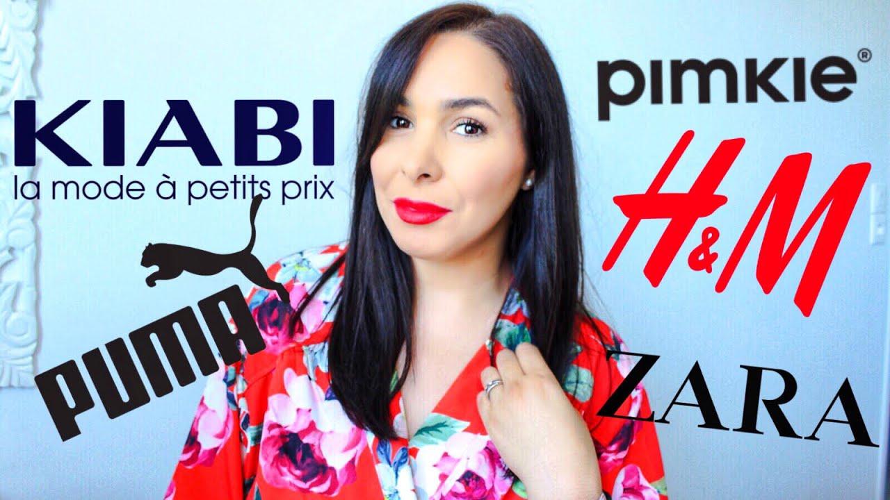 BIG SUMMER FASHION HAUL : Aliexpress, Zara, H&M, KIABI, Pimkie...