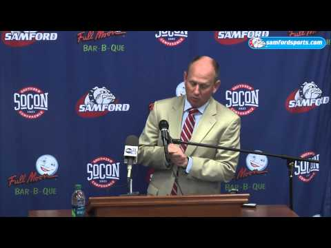 Samford Head Football Coach Press Conference