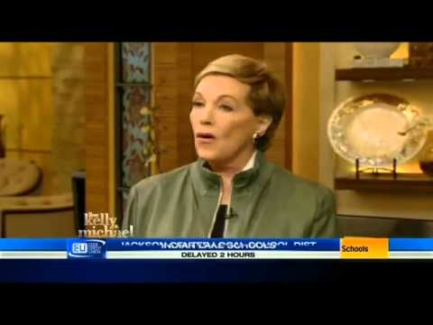 Julie Andrews on Live! with Kelly and Michael (Mar 24th, 2015)