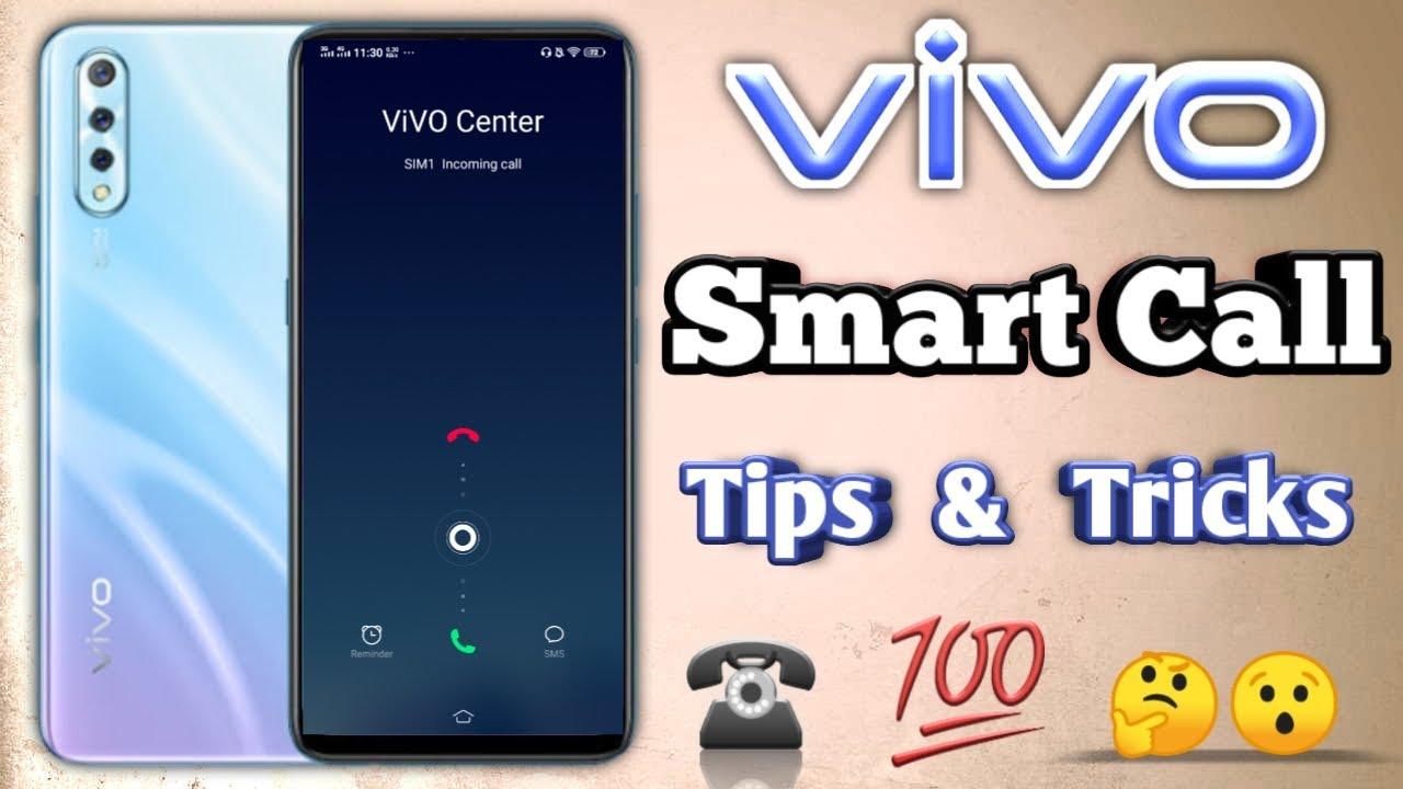 Vivo mobile New Smart call option    Vivo mobile phones smart calls settings