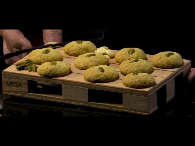 Biscotti cioccolato bianco e pistacchi
