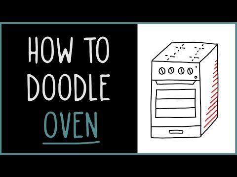 Learn How to Doodle a Oven (drawing tips)