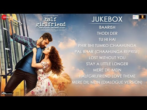 Thumbnail: Half Girlfriend - Full Movie Audio Jukebox | Arjun Kapoor & Shraddha Kapoor