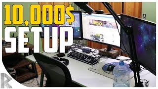 My 10,000$+ Youtuber/Twitch Streamer Gaming Setup Tour!