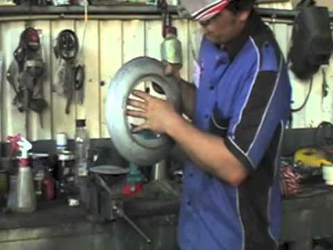 How To Make A Gas Bottle Bbq Part 1 Youtube