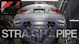 AWE Exhaust Install - BMW M4 - LOUD