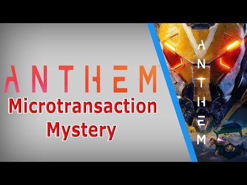 EA & Bioware Are Lying About Anthem Microtransactions