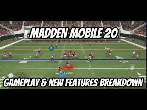 MADDEN MOBILE 20 GAMEPLAY & NEW FEATURES BREAKDOWN!