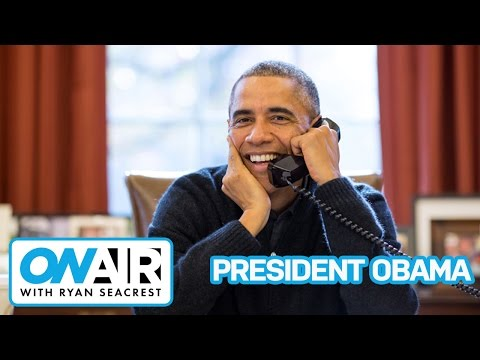 AUDIO: President Obama Talks Debate, Voter Registration & College Lingo | On Air with Ryan Seacrest