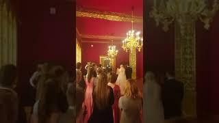 Церемония бракосочетания во Дворце Алексея Михайловича, в Коломенском
