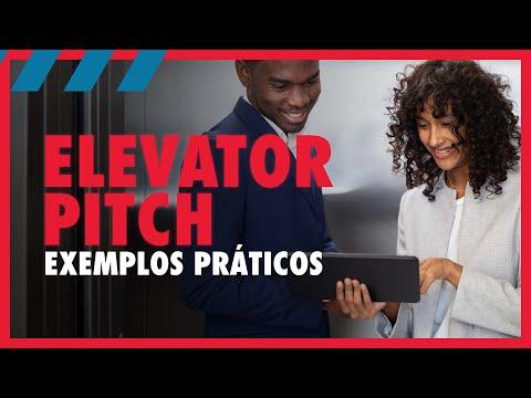 Elevator Pitch: exemplos práticos