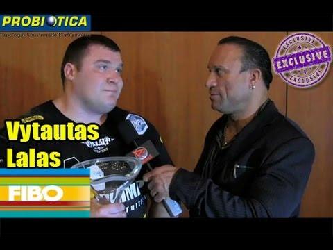 13FIBO- Vytautas Lalas after winning Strongmen!