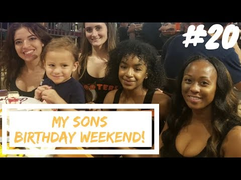Hooters For My Sons Birthday! & My First Tanker Tire Blowout - Life of a Tanker #20