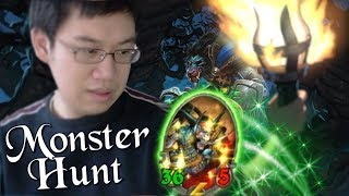 Destroying Every Boss Easy Peasy /w Darius! - Monster Hunt - The Witchwood