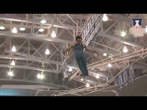 Illinois Men's Gymnastics Big Ten Team Finals Highlights 3/27/15