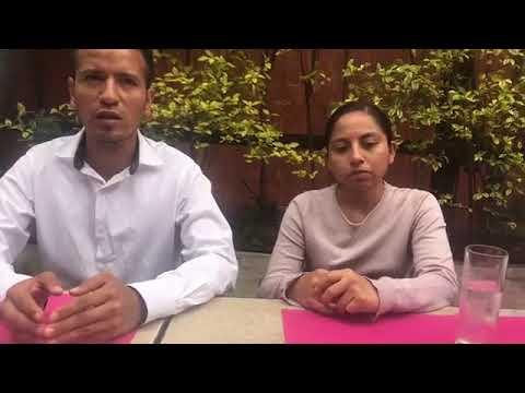 Entrevista a padres de Edward Luna. Por Nadia Sanabia