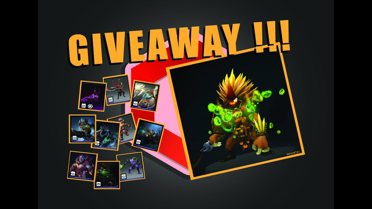 dota 2 free items giveaway