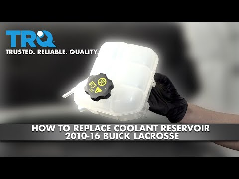 How To Replace Coolant Reservoir 2010-16 Buick LaCrosse