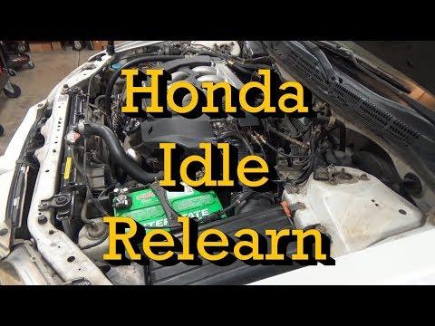 Honda Idle Relearn Procedure