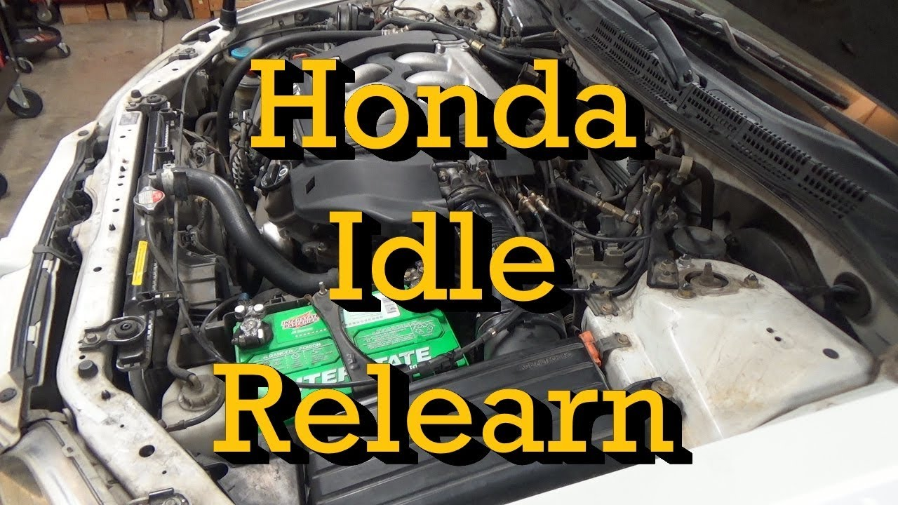 Honda Idle Relearn Procedure