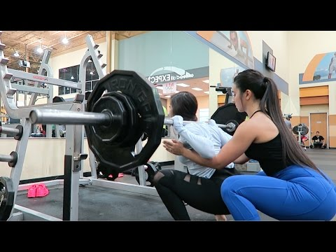 HIGH VOLUME LEG DAY WITH CRISTAL