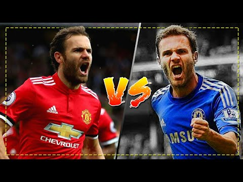 Juan Mata  in Manchester United vs Juan Mata in Chelsea - Crazy Skills, Goals & Assists | HD
