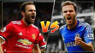 Juan Mata  in Manchester United vs Juan Mata in Chelsea - Crazy Skills, Goals & Assists | HD