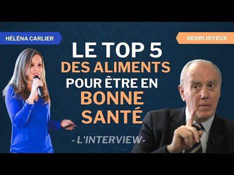 Le top 5 des aliments miracles pour être en FORME et en BONNE SANTÉ / Interview d'Henri Joyeux