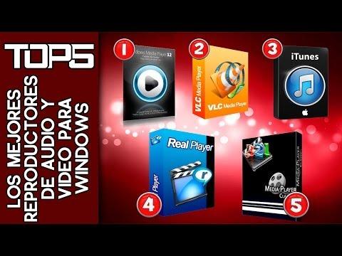 TOP5 - Los mejores reproductores de Audio y Video para windows