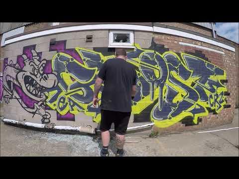 Graffiti - Ghost EA - Enter The Dragon