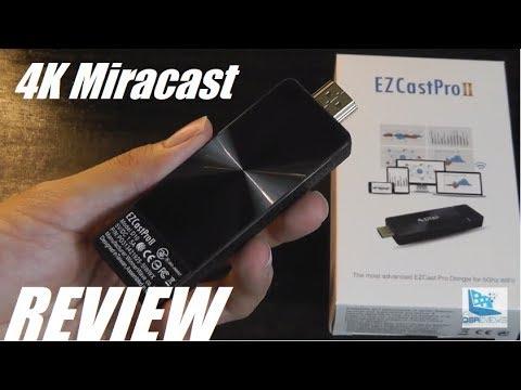 REVIEW: EZCast PRO II, 4K Miracast Wireless Screen Mirroring Dongle