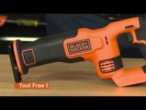 Black & Decker Reciprocating Saw - 18V