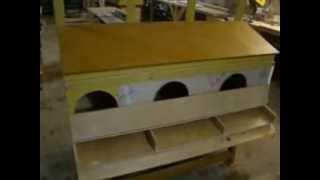 Гнездо для кур несушек(Производство находится в г.Можайск, (Московская обл.) Принимаем заказы: т.8-903-596-66-24., 2013-01-17T09:40:52.000Z)